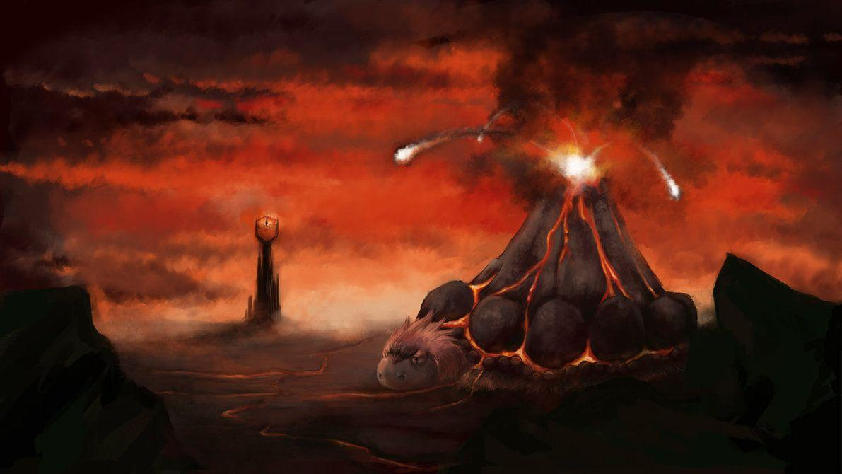 Camerupt Mordor by GoldenLionofRa on DeviantArt