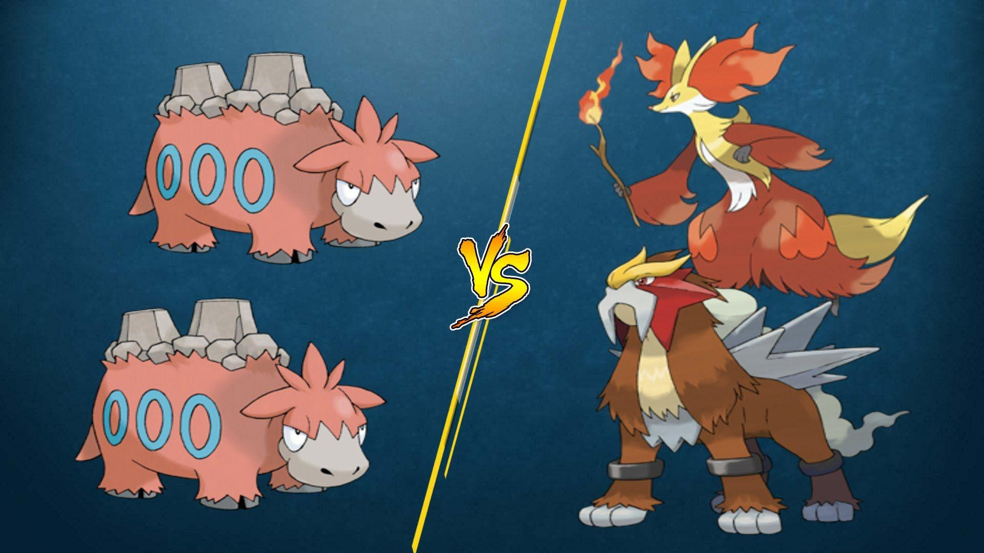 PTCGO Bonus Match] Camerupt/Camerupt vs Entei/Delphox - YouTube