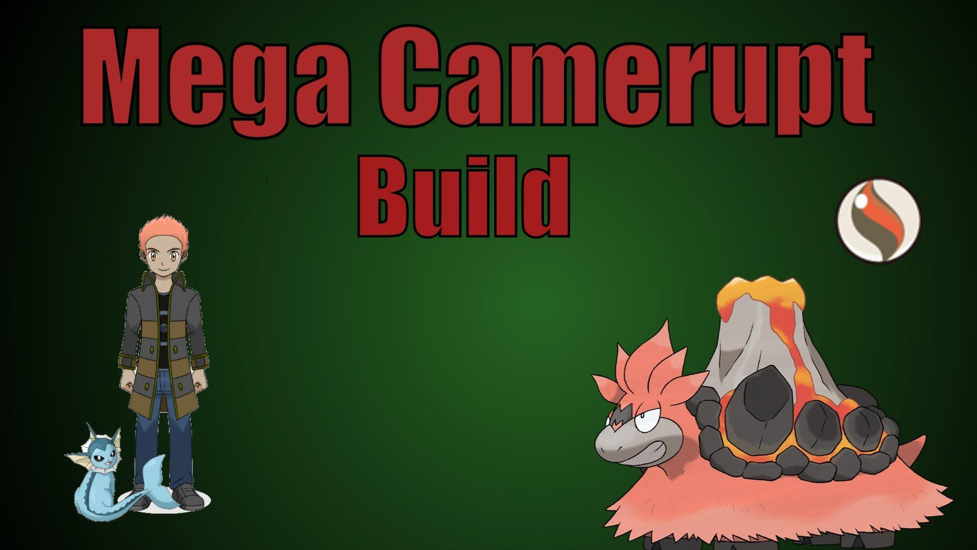 Mega Camerupt Competitive Build | Pokemon Showdown Team. - YouTube
