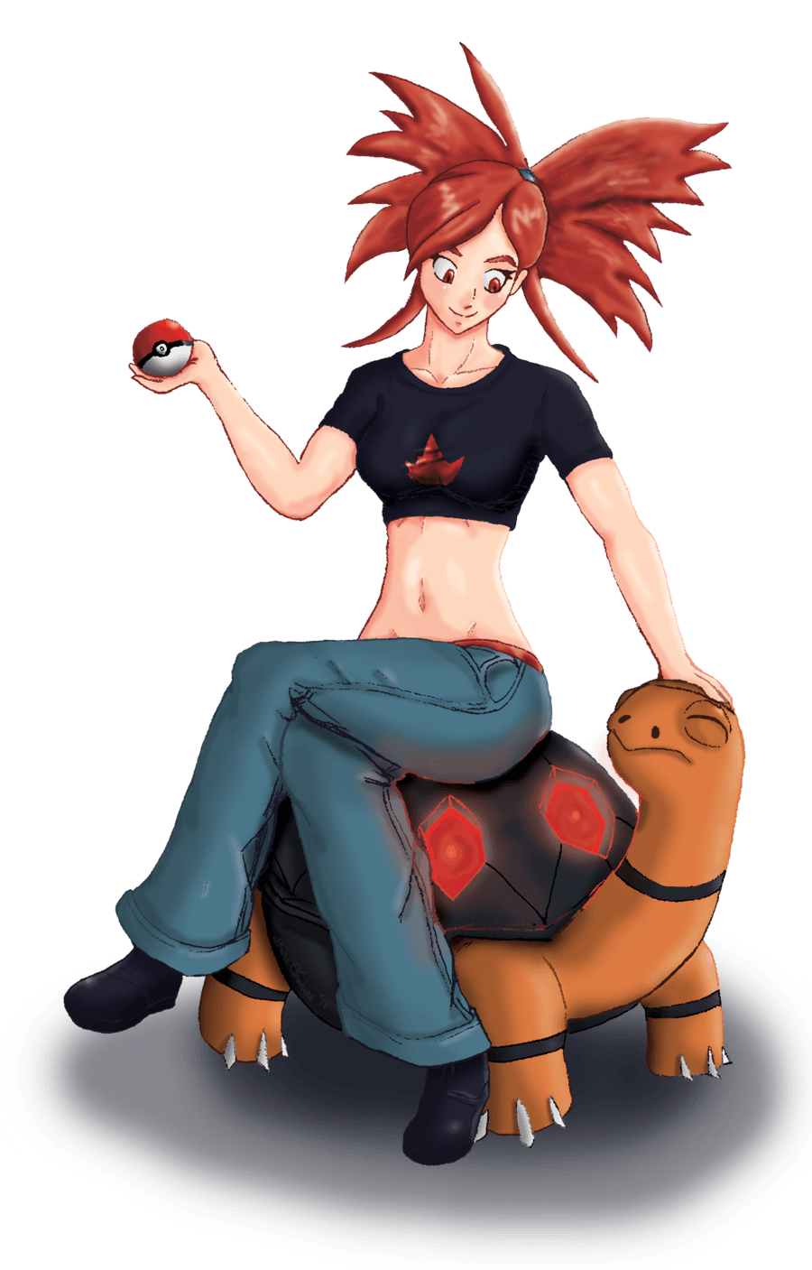 and Torkoal by Flameheadshero on DeviantArt