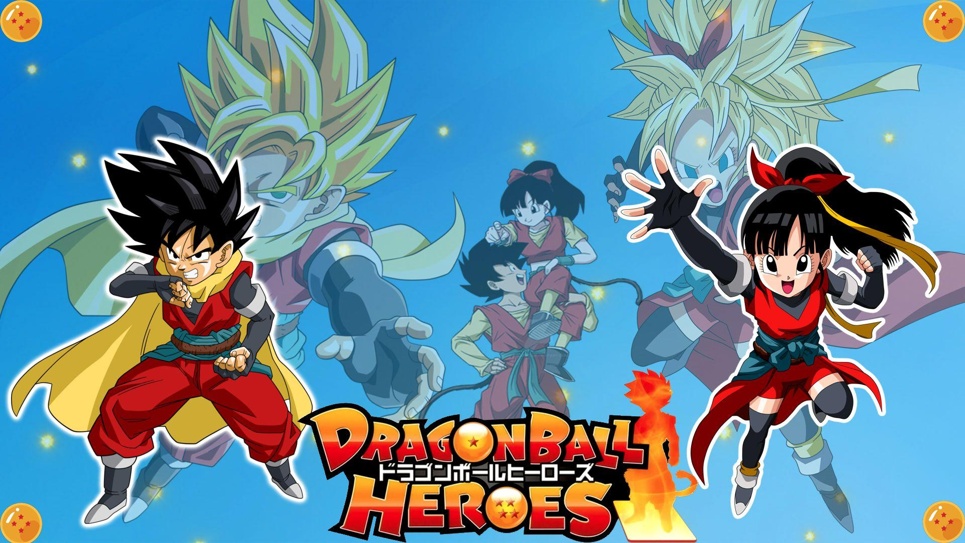Super Dragon Ball Heroes Wallpapers Wallpaper Cave