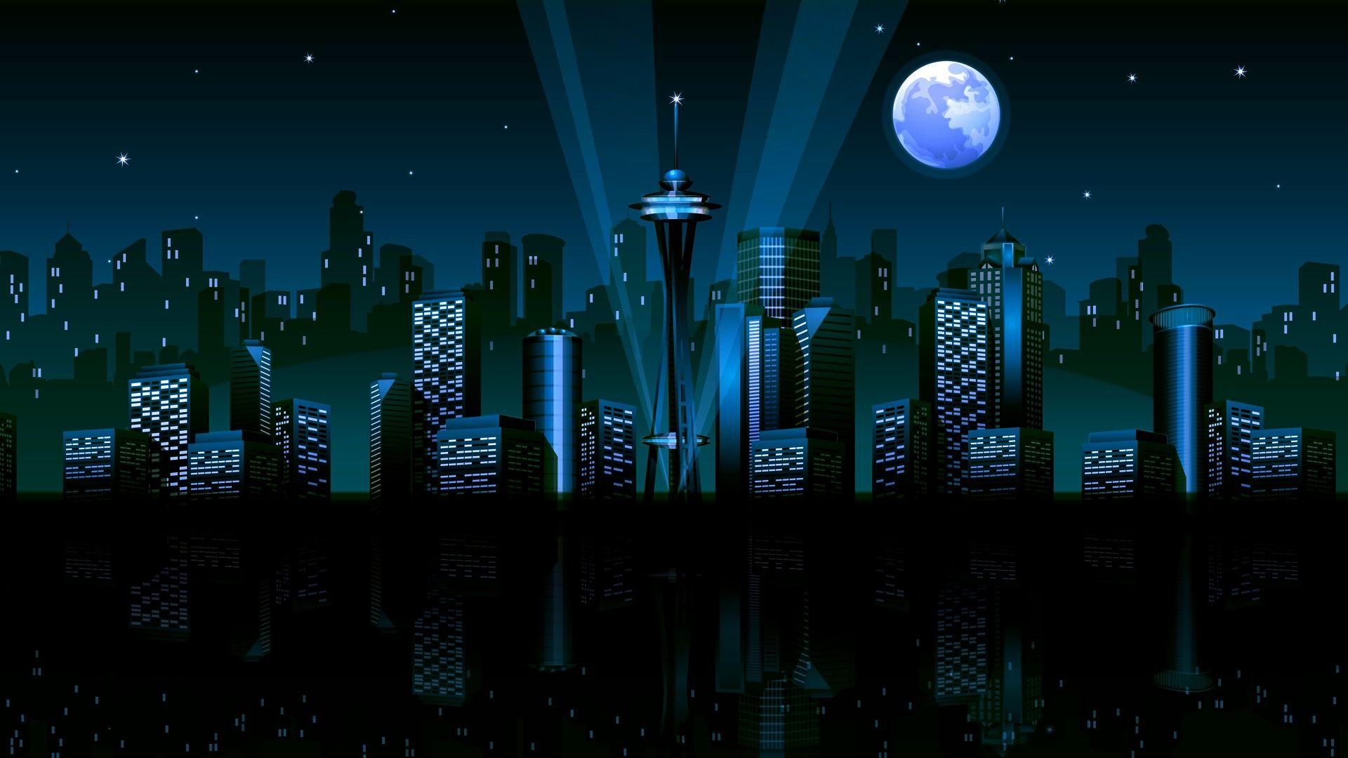 Numa Vector City Nightlife Wallpapers By Charlie Henson On DeviantArt