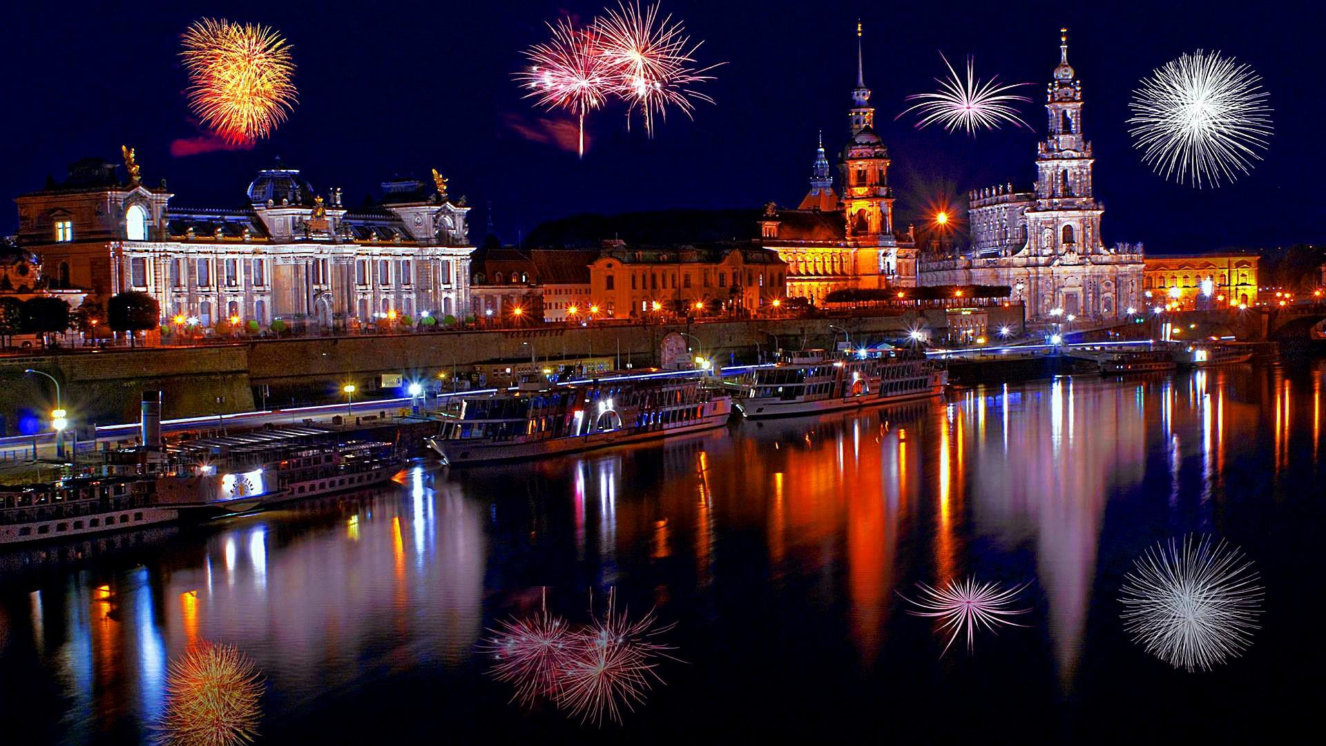 New Year's Eve In Dresden Wallpapers