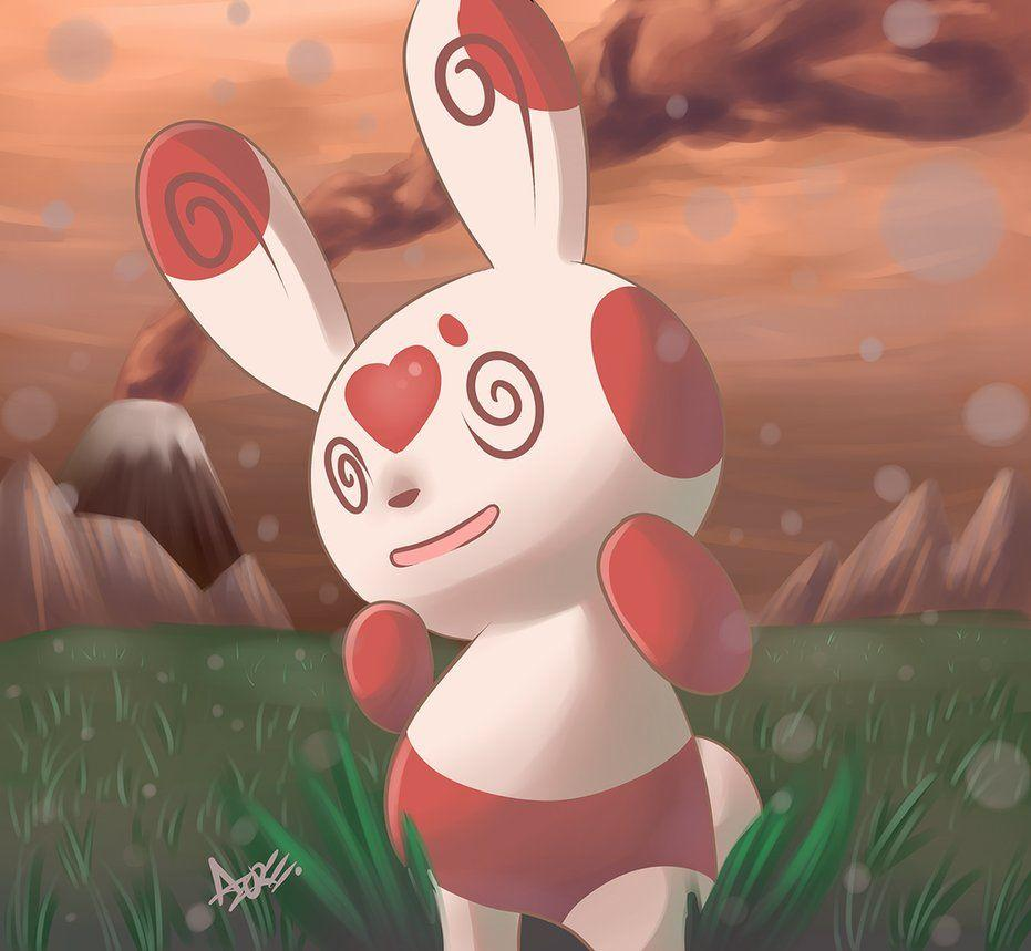 Spinda by AzureBladeXIII