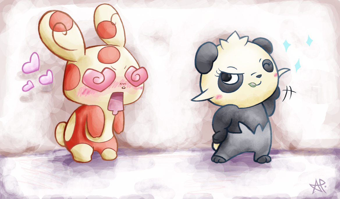Pancham X Spinda = Panda? by EmberwoodForest on DeviantArt