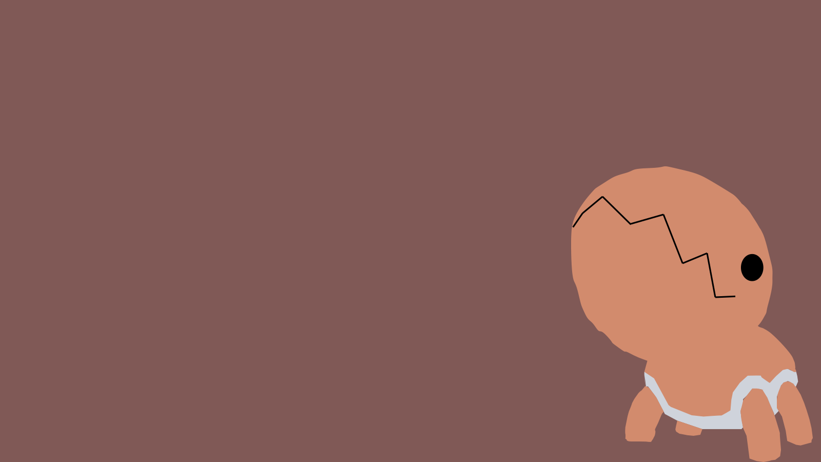Trapinch Minimal Background by RythmicSpark on DeviantArt