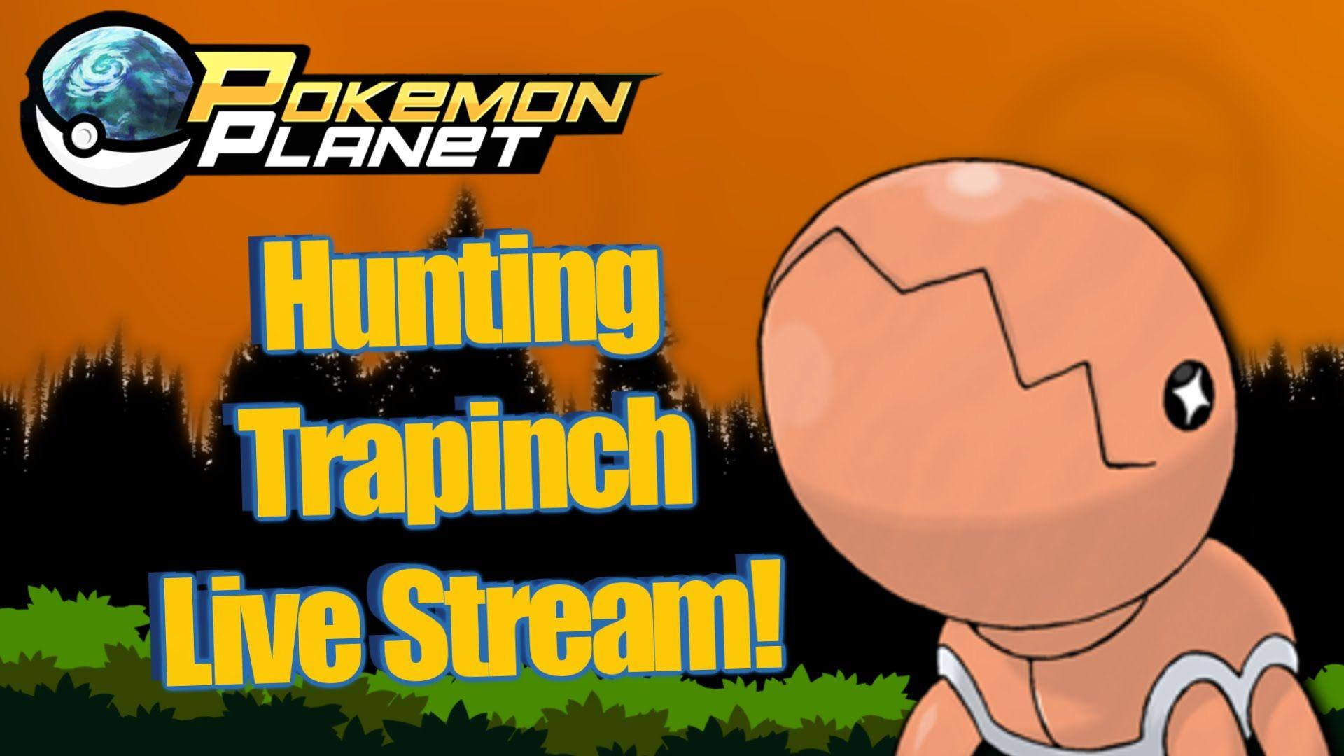 Pokemon Planet - Search for Trapinch In Pokemon Planet! - YouTube