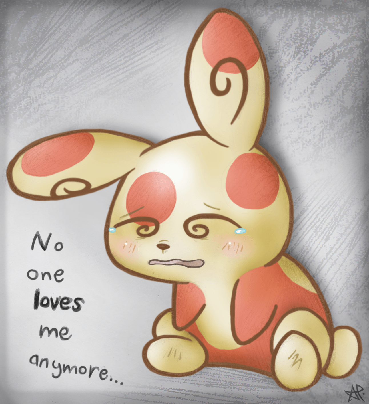 Sad Spinda is Sad by Maplemay