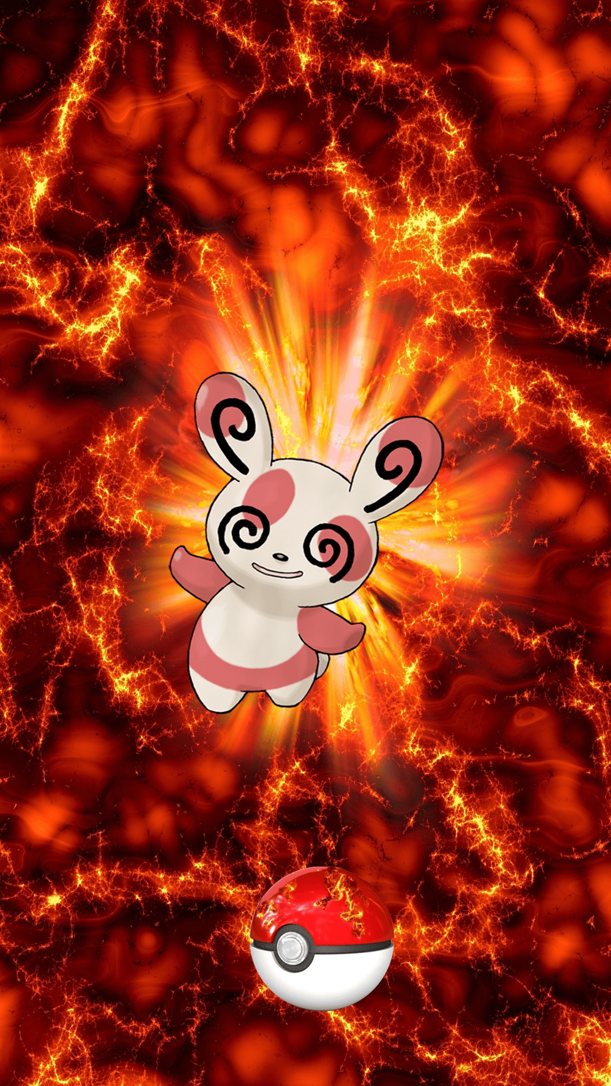 327 Fire Pokeball Spinda Patcheel 14 Egg