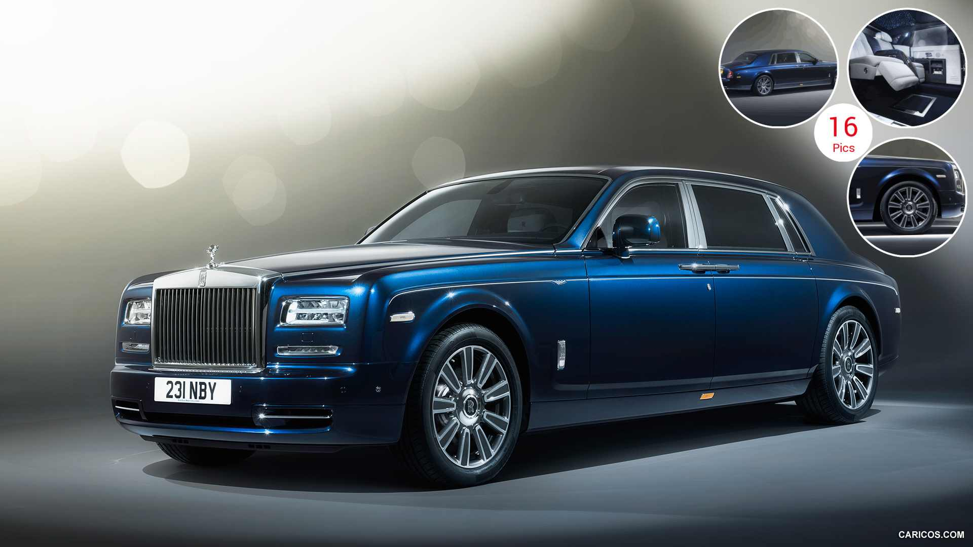 2015 Rolls-Royce Phantom Limelight - Front | HD Wallpaper #1 | 1920x1080
