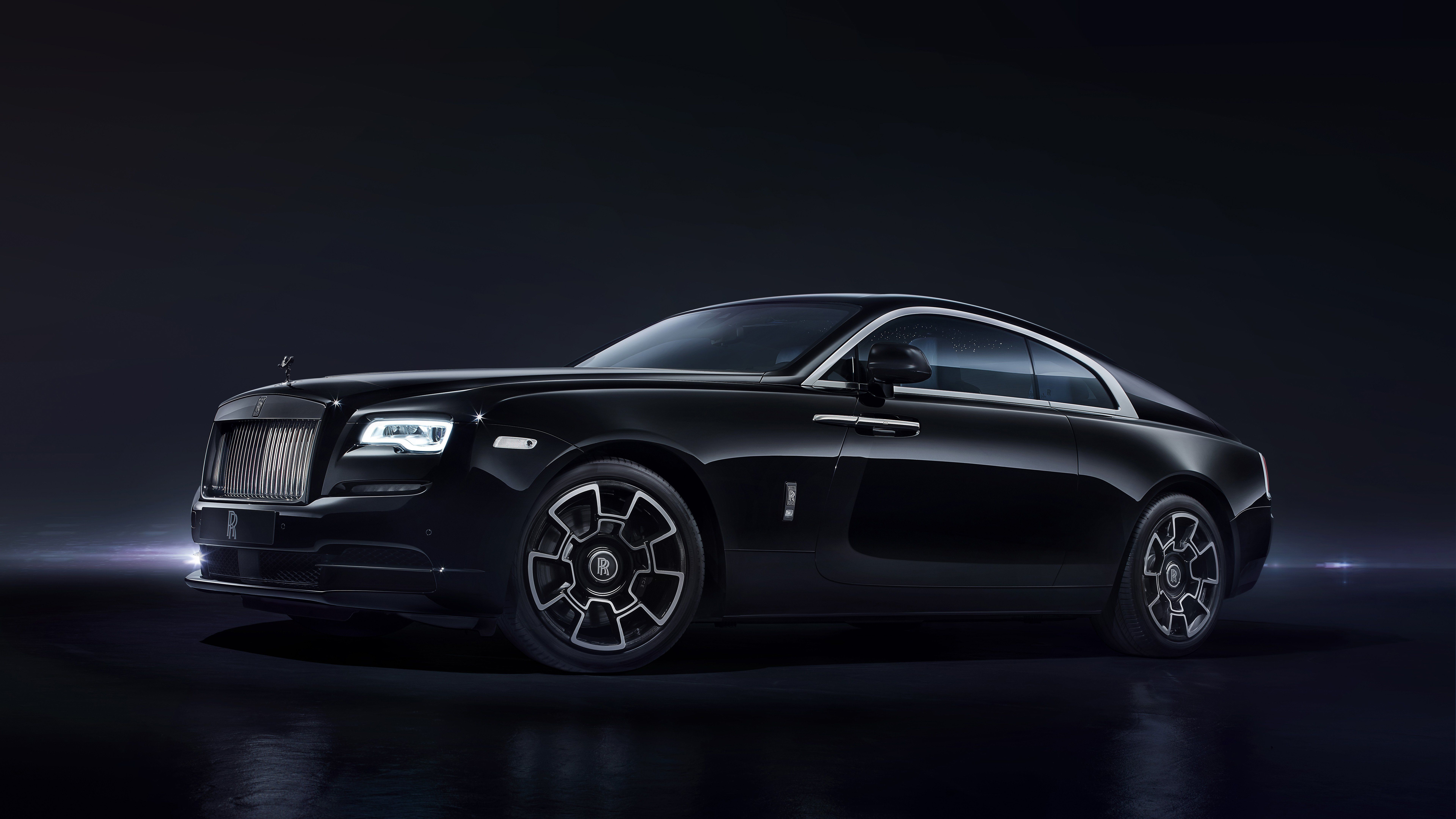 7680x4320 Rolls Royce Black 2017 8k HD 4k Wallpapers, Images ...