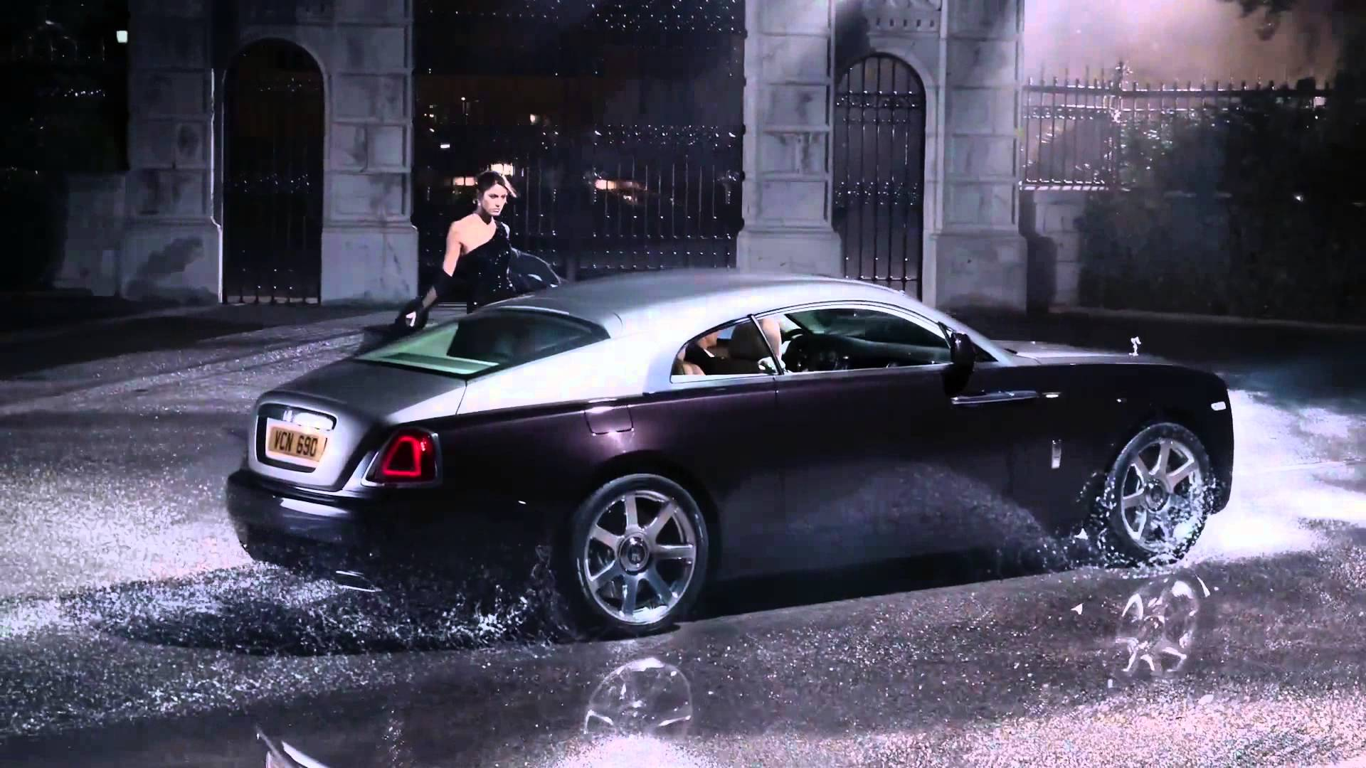 Rolls-Royce Wraith Commercial - YouTube
