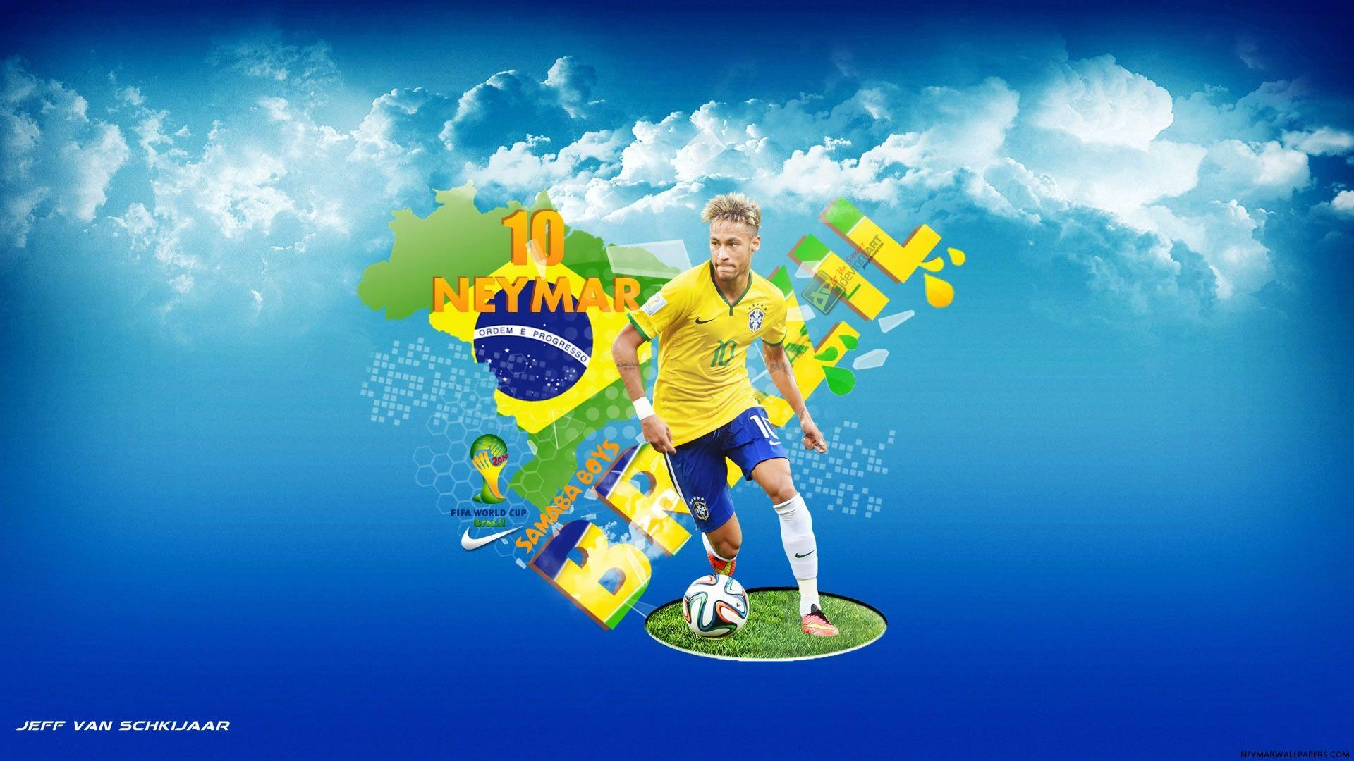Neymar Sports Brazil Wallpapers, Brazil Wallpapers | HD Wallpapers Top
