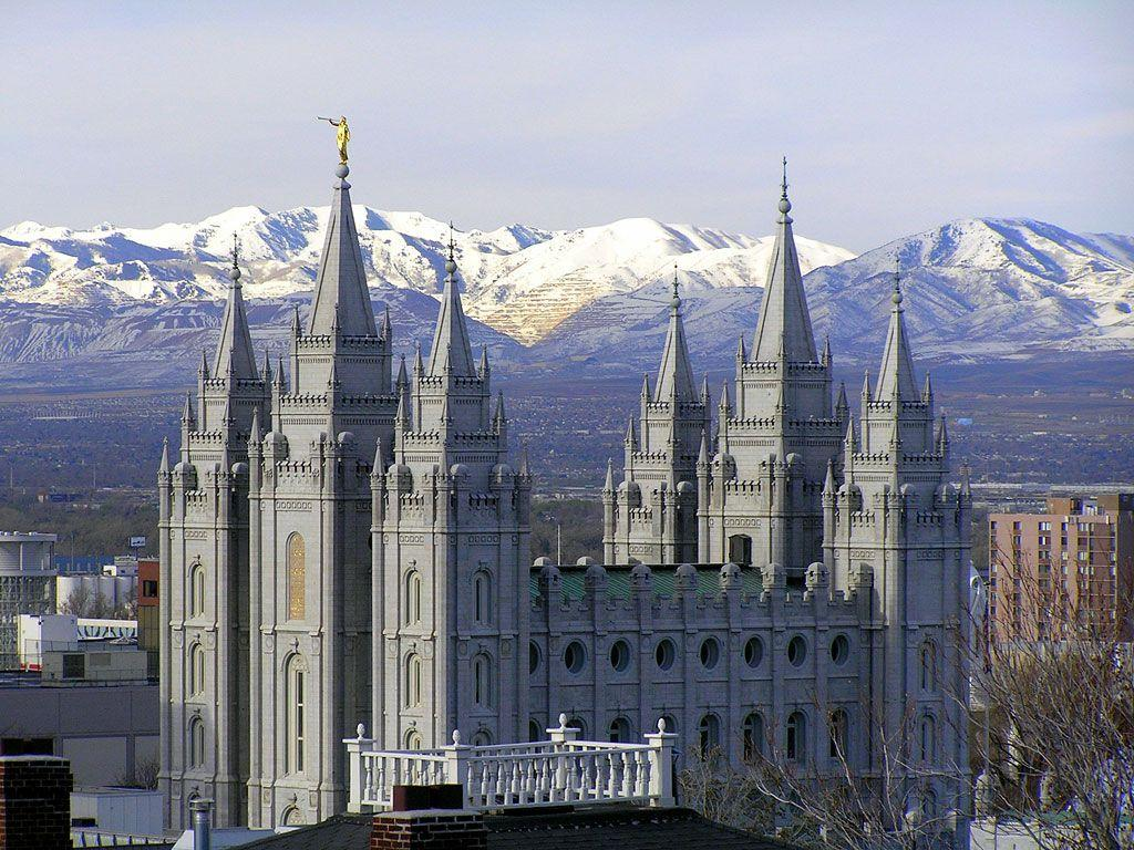 Salt Lake Temple Wallpapers - Travel HD Wallpapers