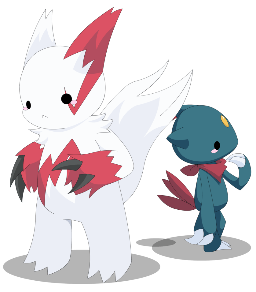 PKMN: Zangoose and Sneasel by Xeohelios on DeviantArt