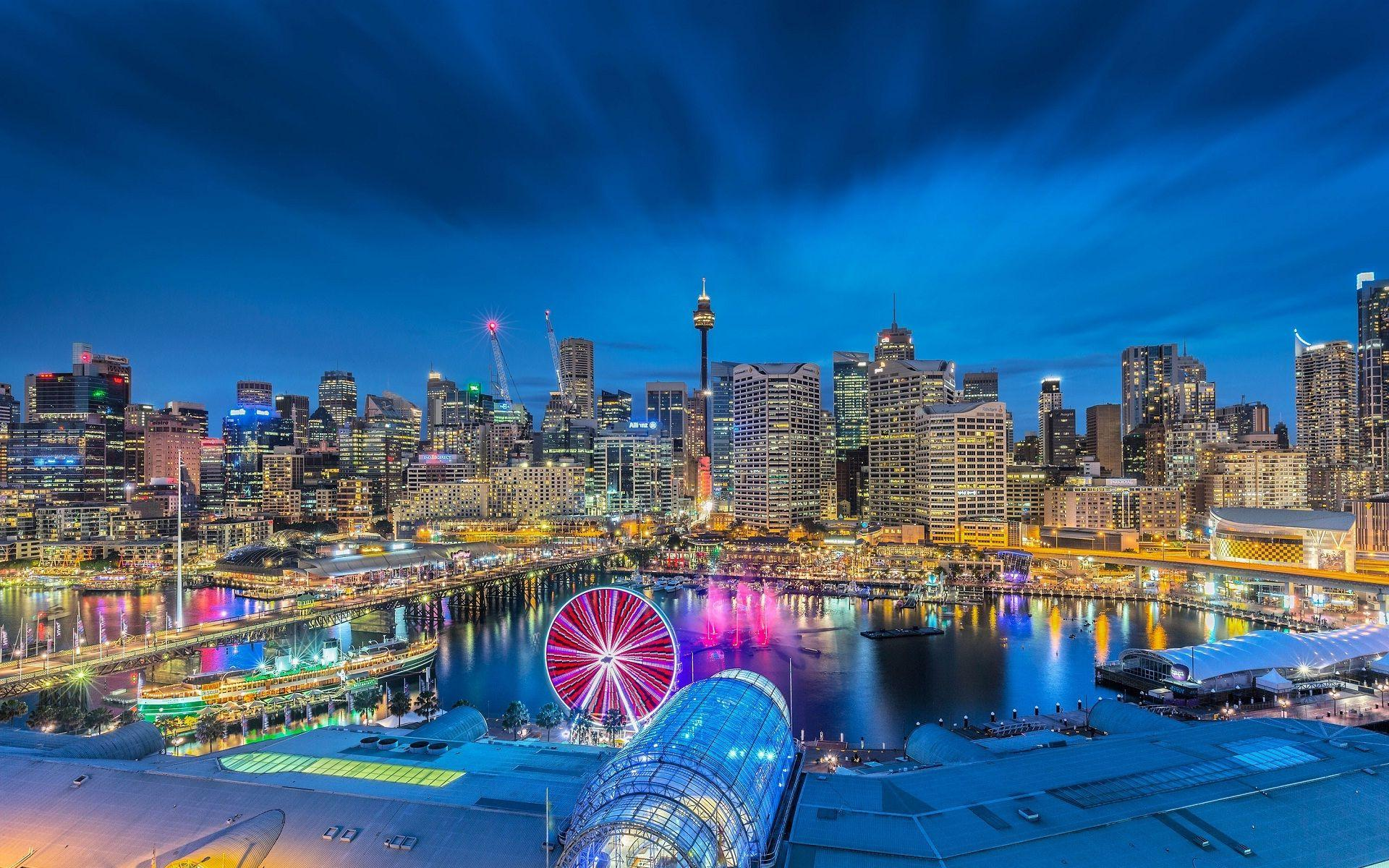 Sydney cityscapes beautiful city view wallpapers