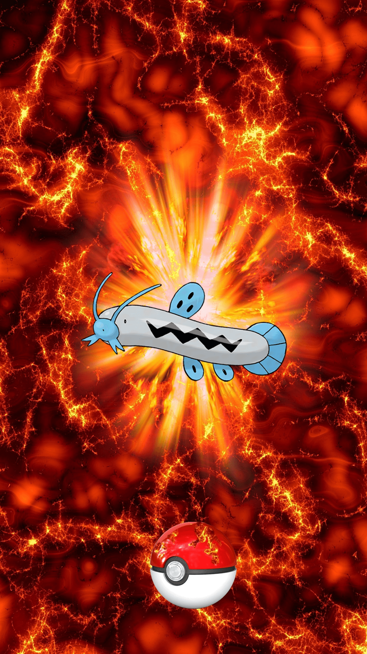 339 Fire Pokeball Barboach Unknown Egg | Wallpaper