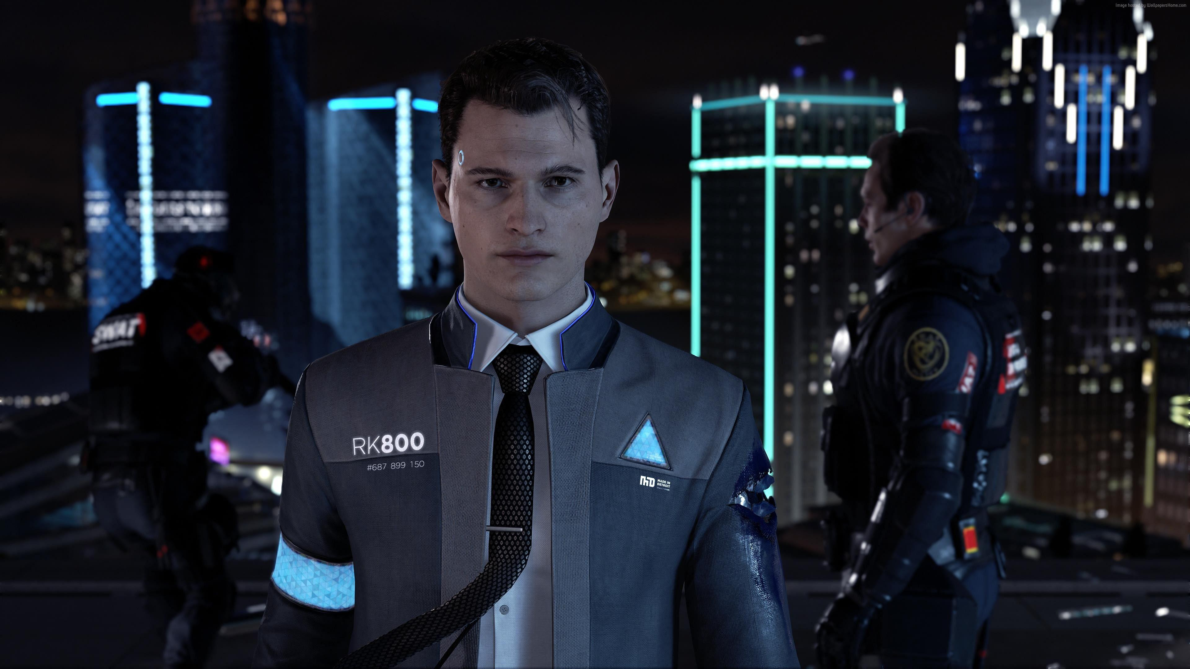 Wallpapers Detroit: Become Human, 4k, E3 2017, screenshot, Games
