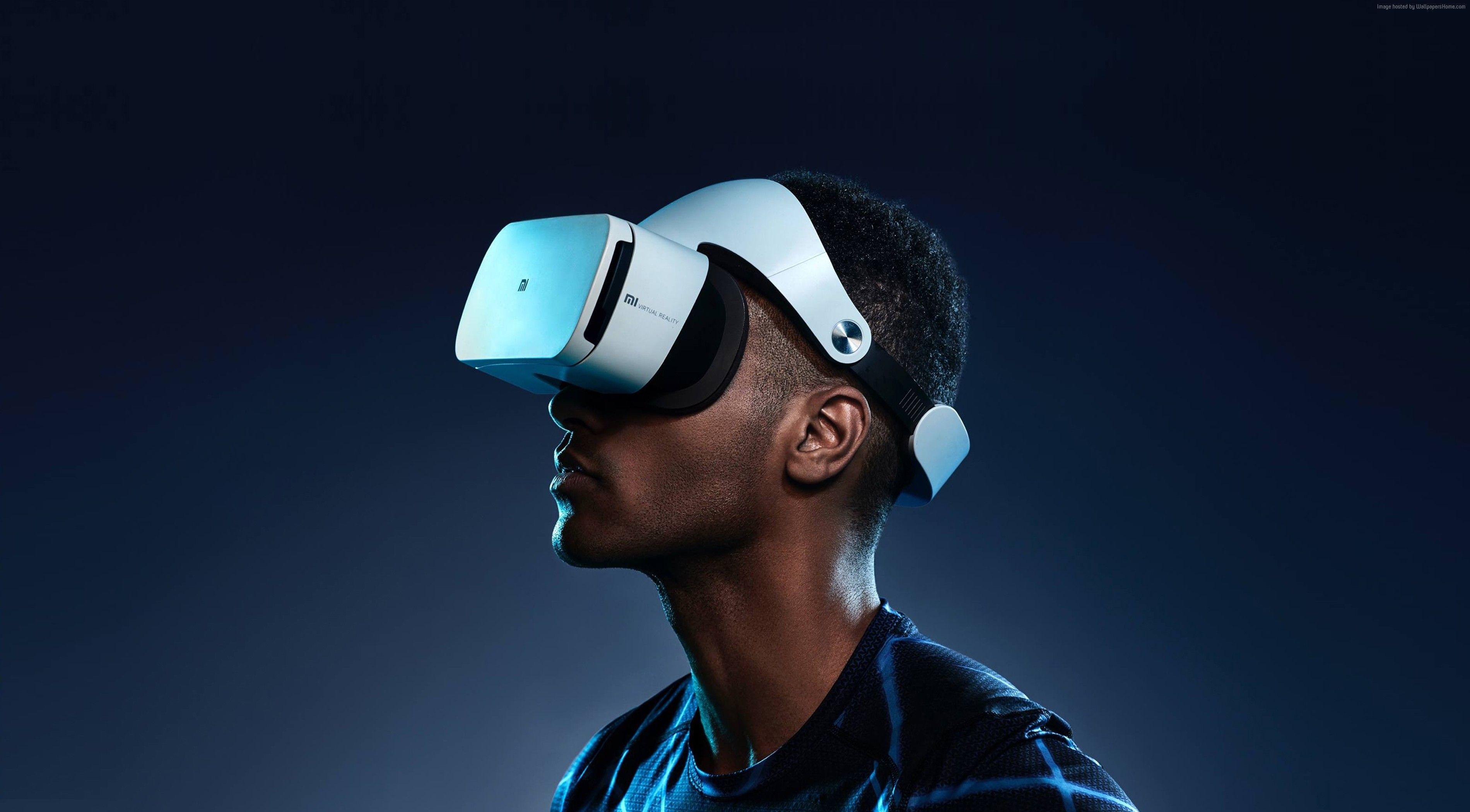 Wallpaper MI VR Xiaomi Virtual Reality Headset Hi