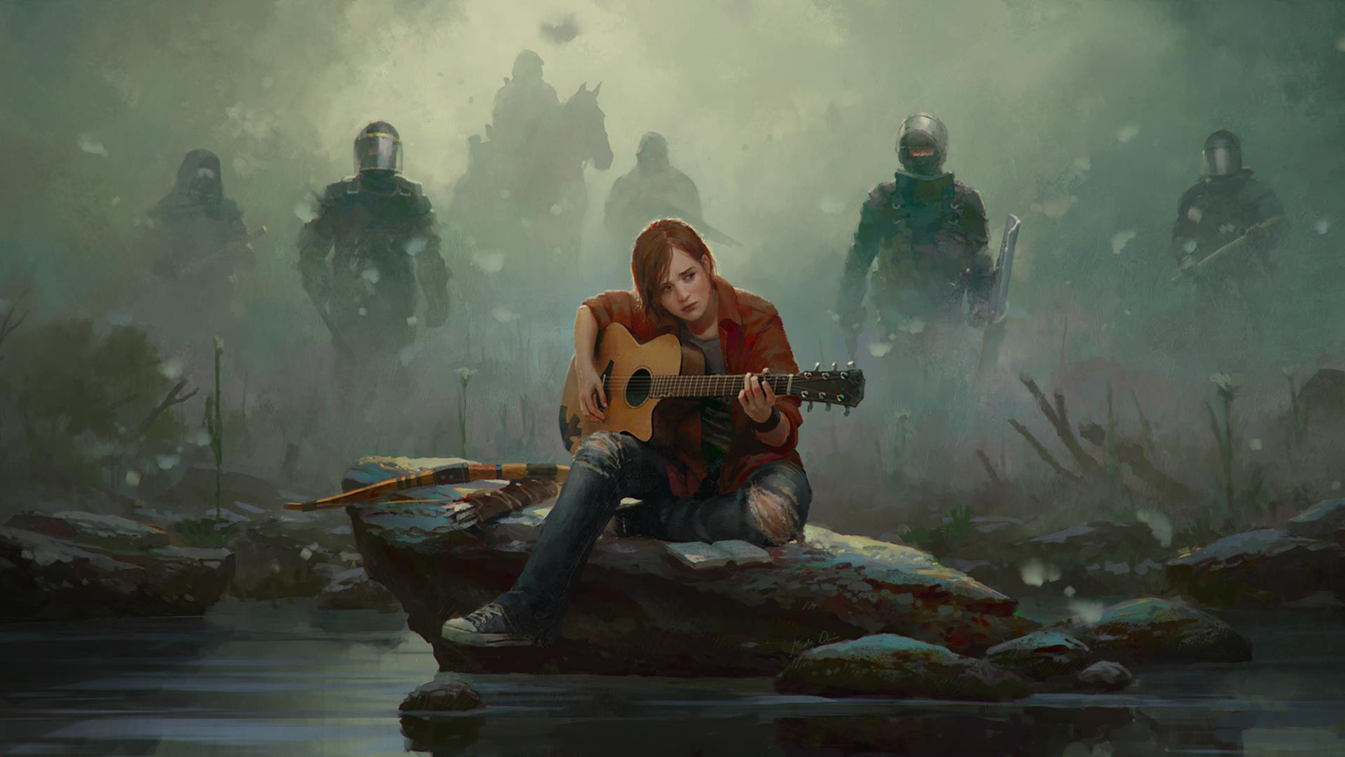 I Edited The Last Of Us 2 S Reveal Thumbnail Into A Wallpaper