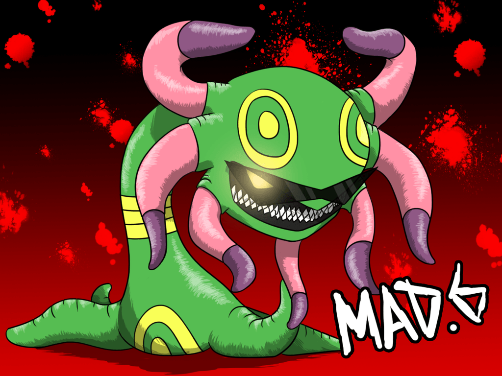 Mad 6 - A Champion's Cradily by Mad-Revolution on DeviantArt