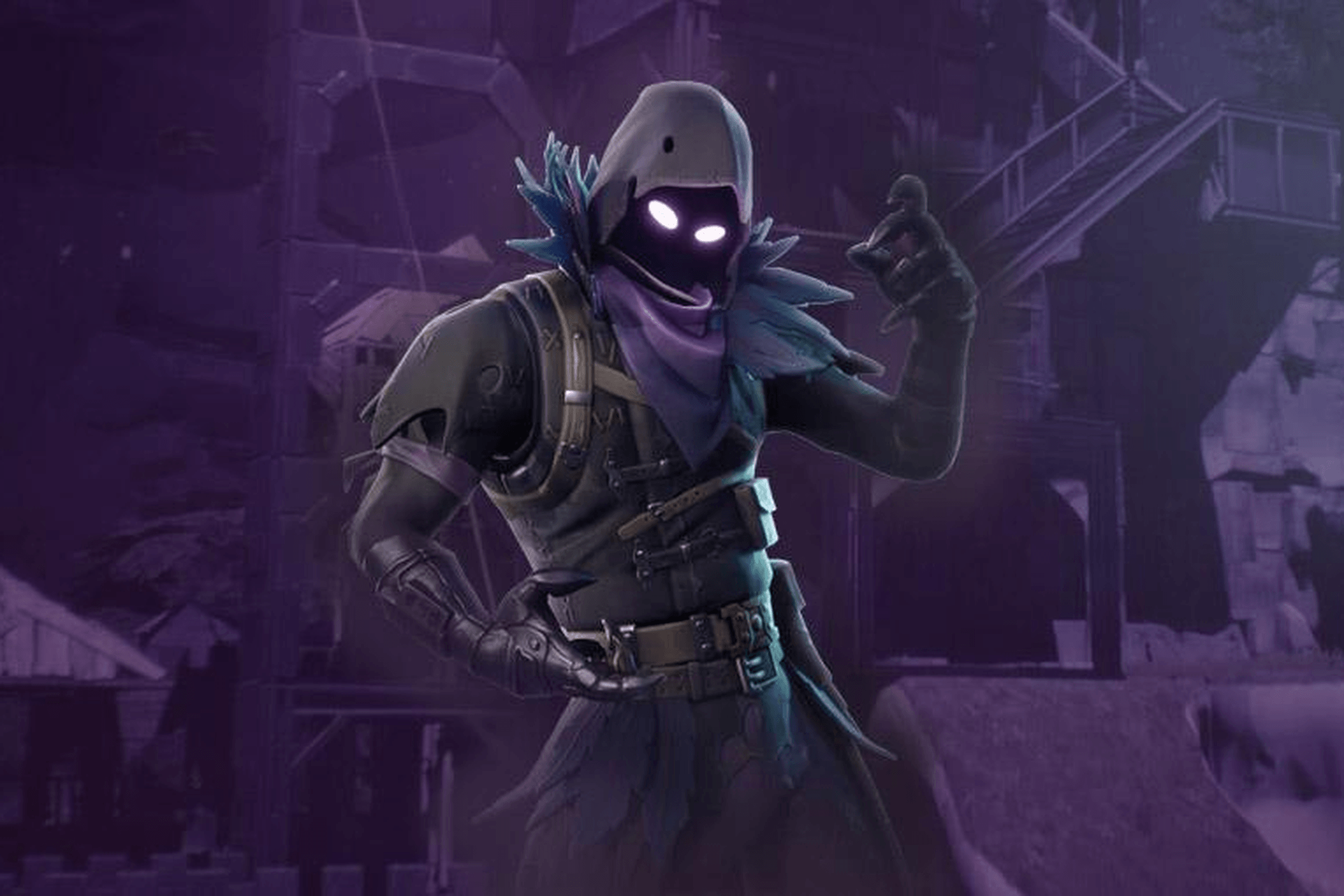 Full HD+ Fortnite Battle Royale : Raven Wallpapers : Games Wallpapers