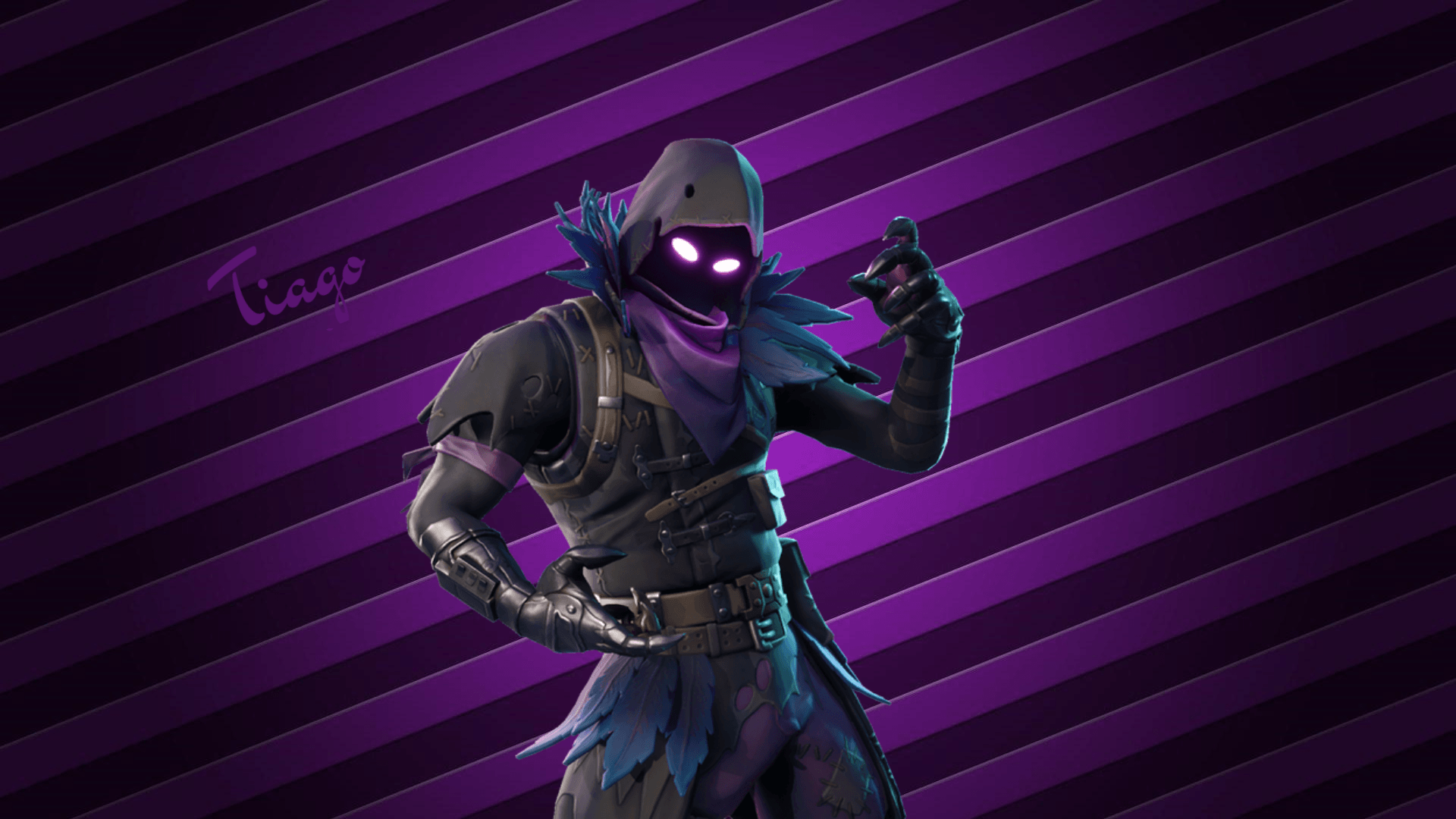 Awesome Fortnite Wallpapers Raven Amazing Wallpaper Hd Library