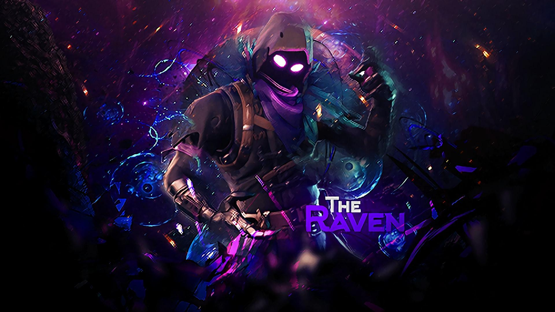 Raven Fortnite Wallpapers Wallpaper Cave