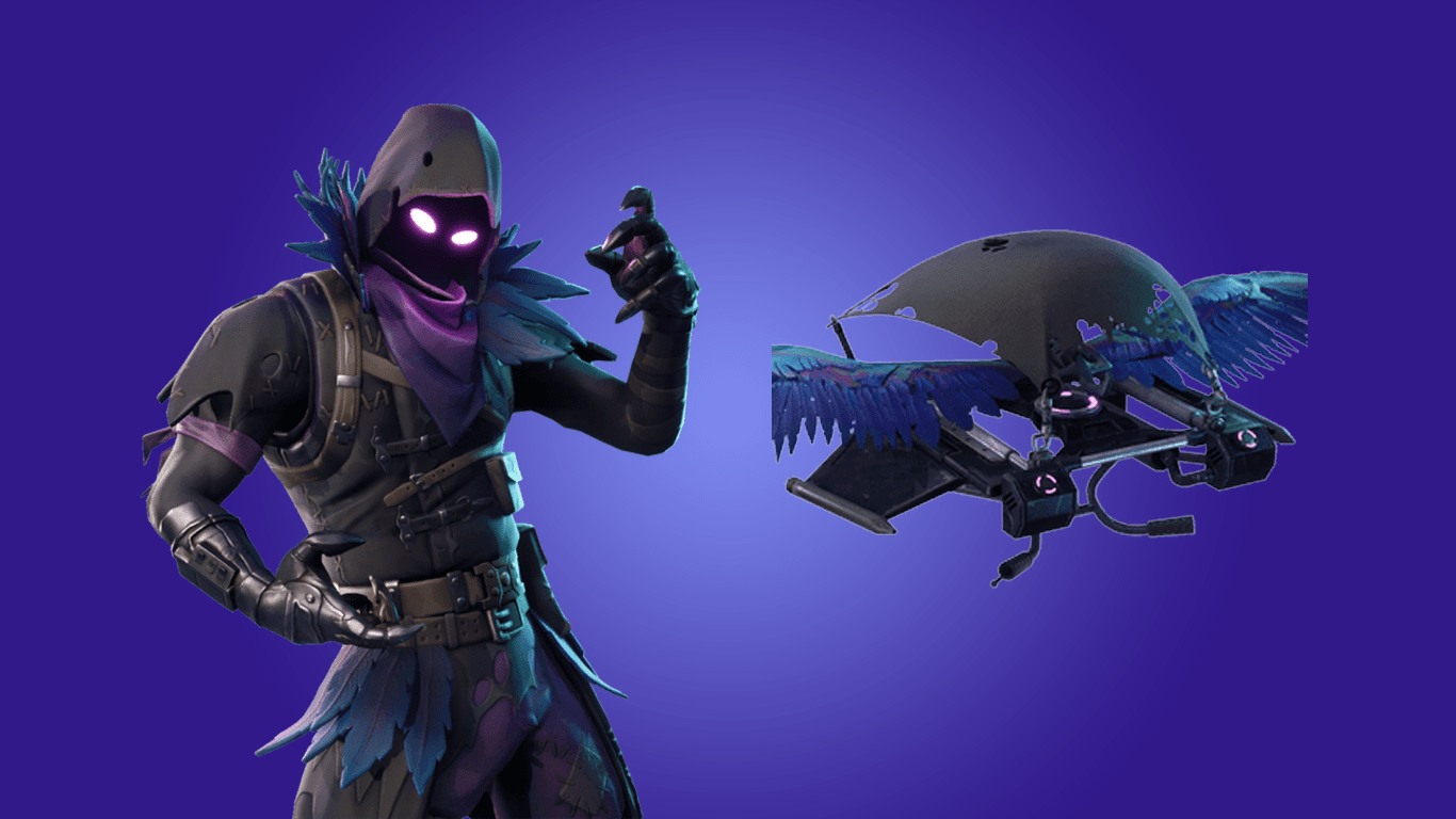 Coming Soon: Raven Outfit and Feathered Flyer Glider