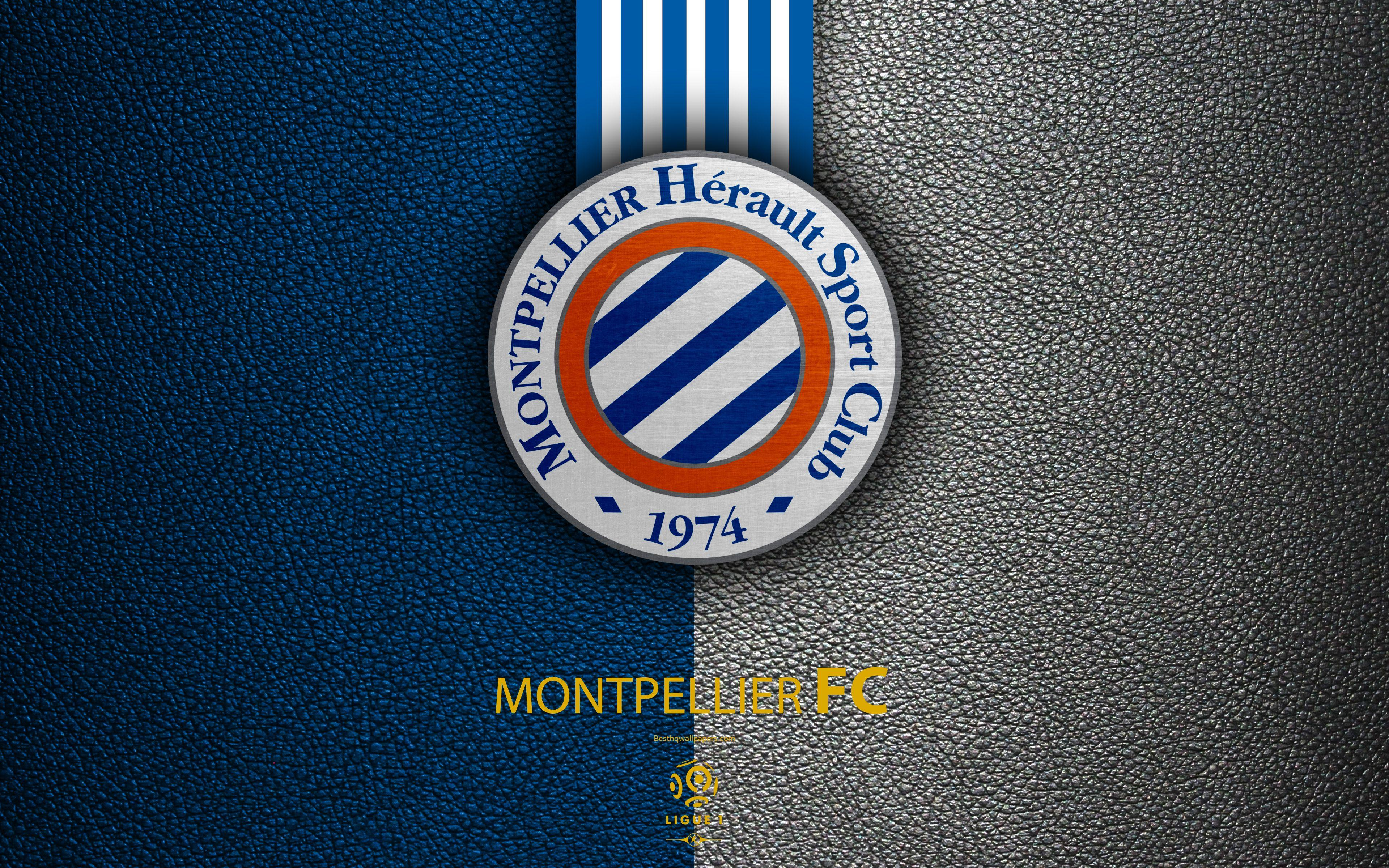 Download wallpapers Montpellier FC, FC, 4K, French football club