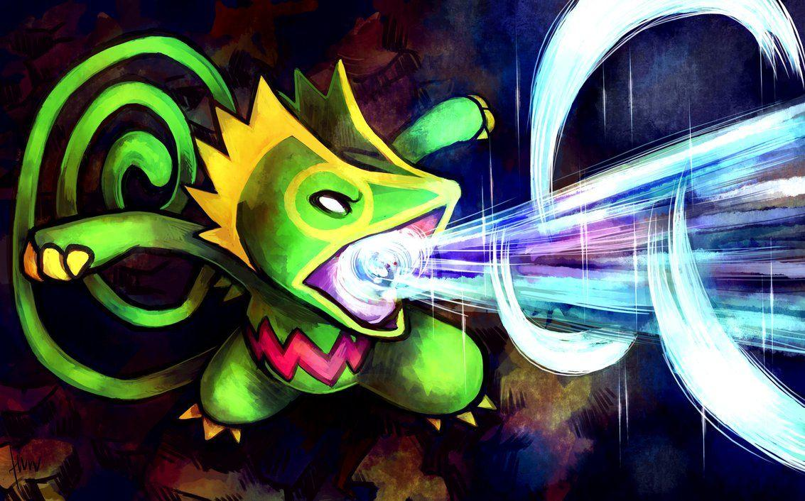 Kecleon used Ice Beam by Haychel
