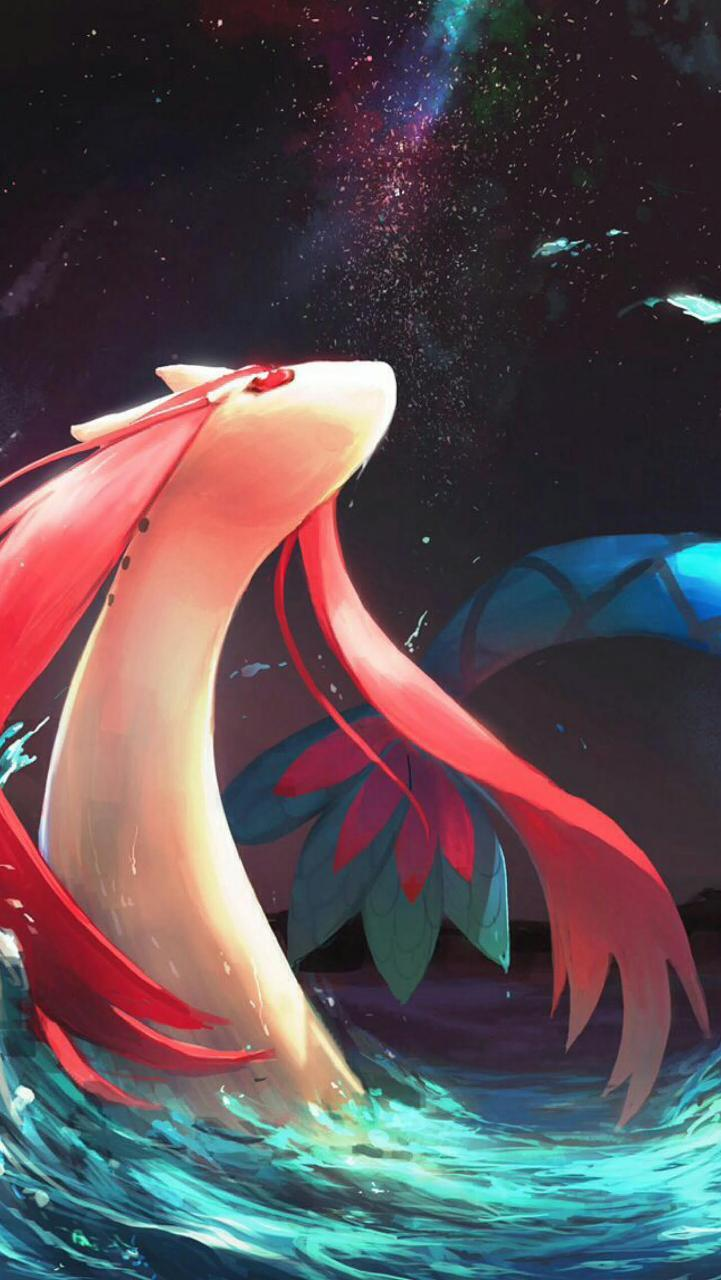 milotic wallpaper by umbreon18 • ZEDGE™ - free your phone