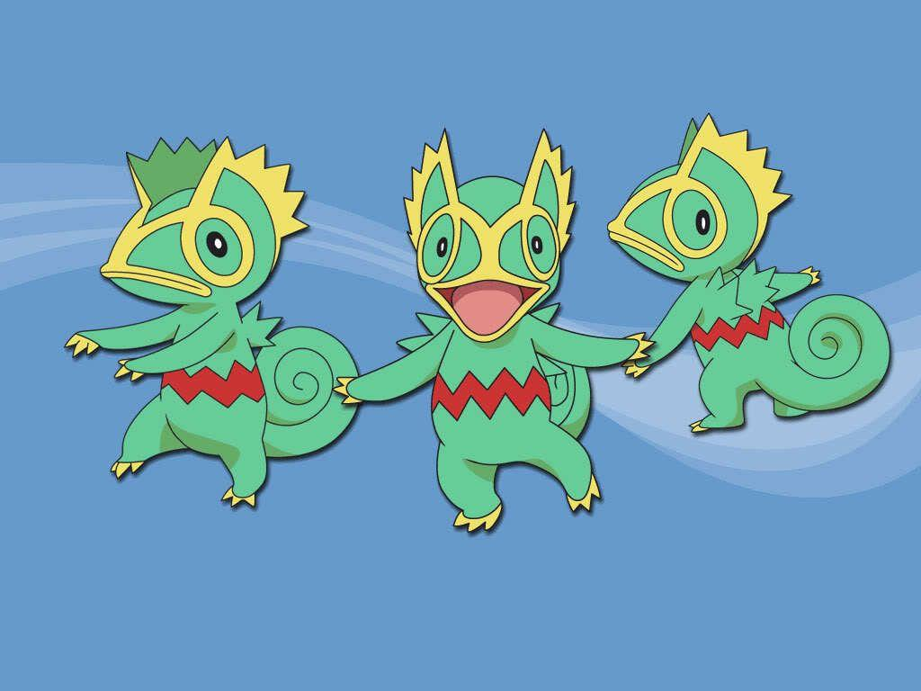 pokemon normal kecleon green anime