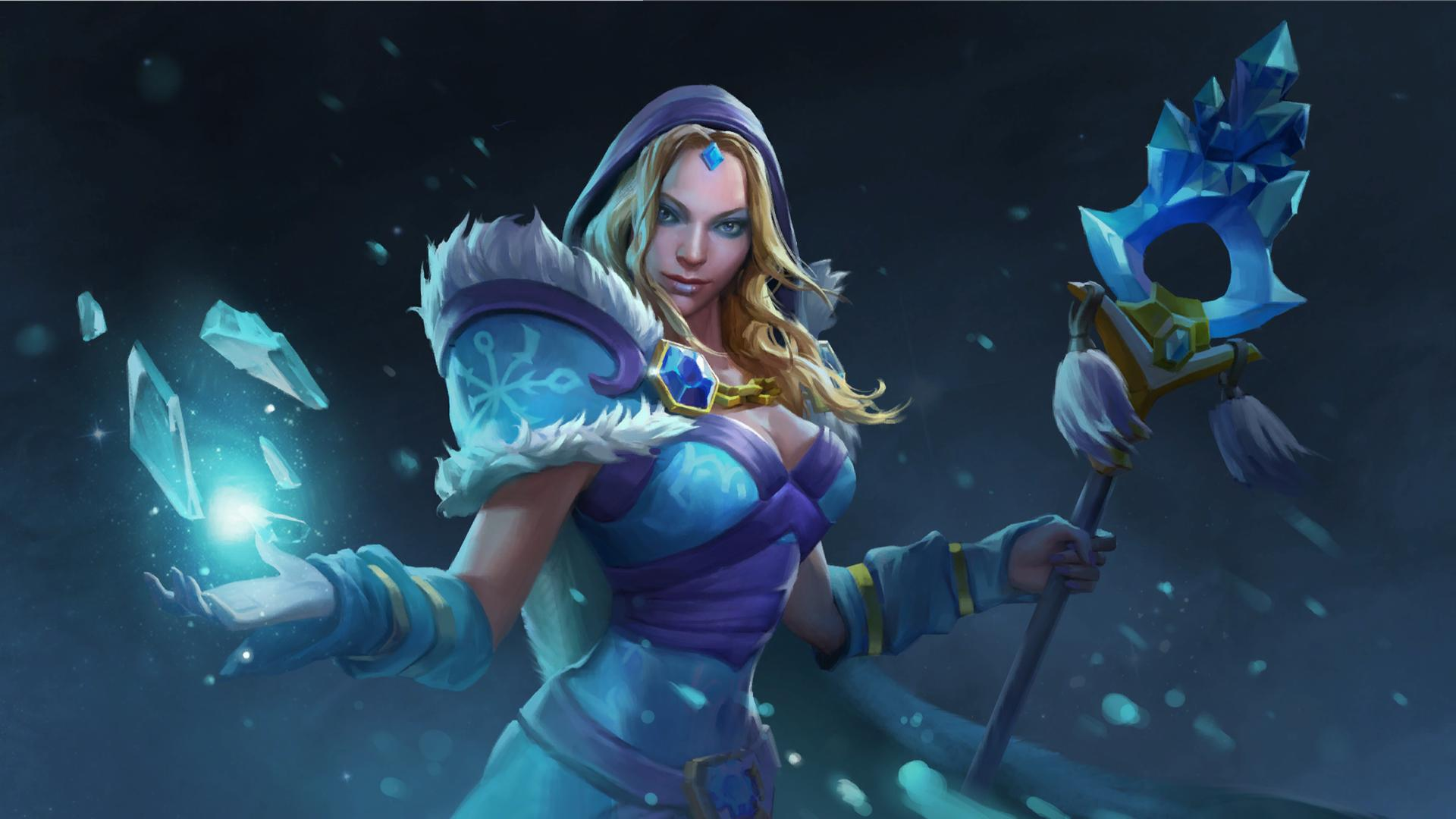Crystal Maiden Wallpapers Wallpaper Cave
