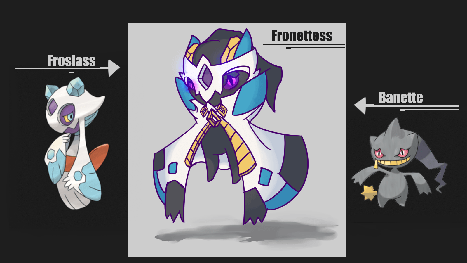 I felt like trying to fuse two of my favorite Pokemon, Froslass and ...