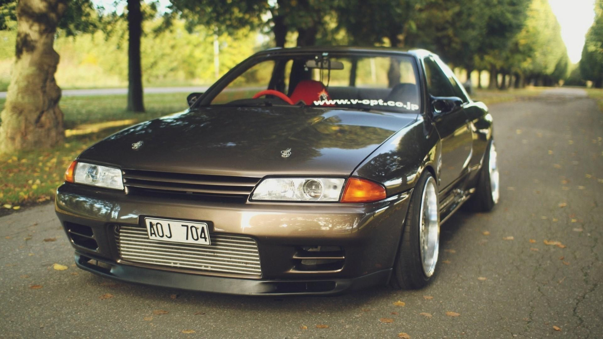Market nissan skyline r32 gt-r cars roads wallpaper | (42026)