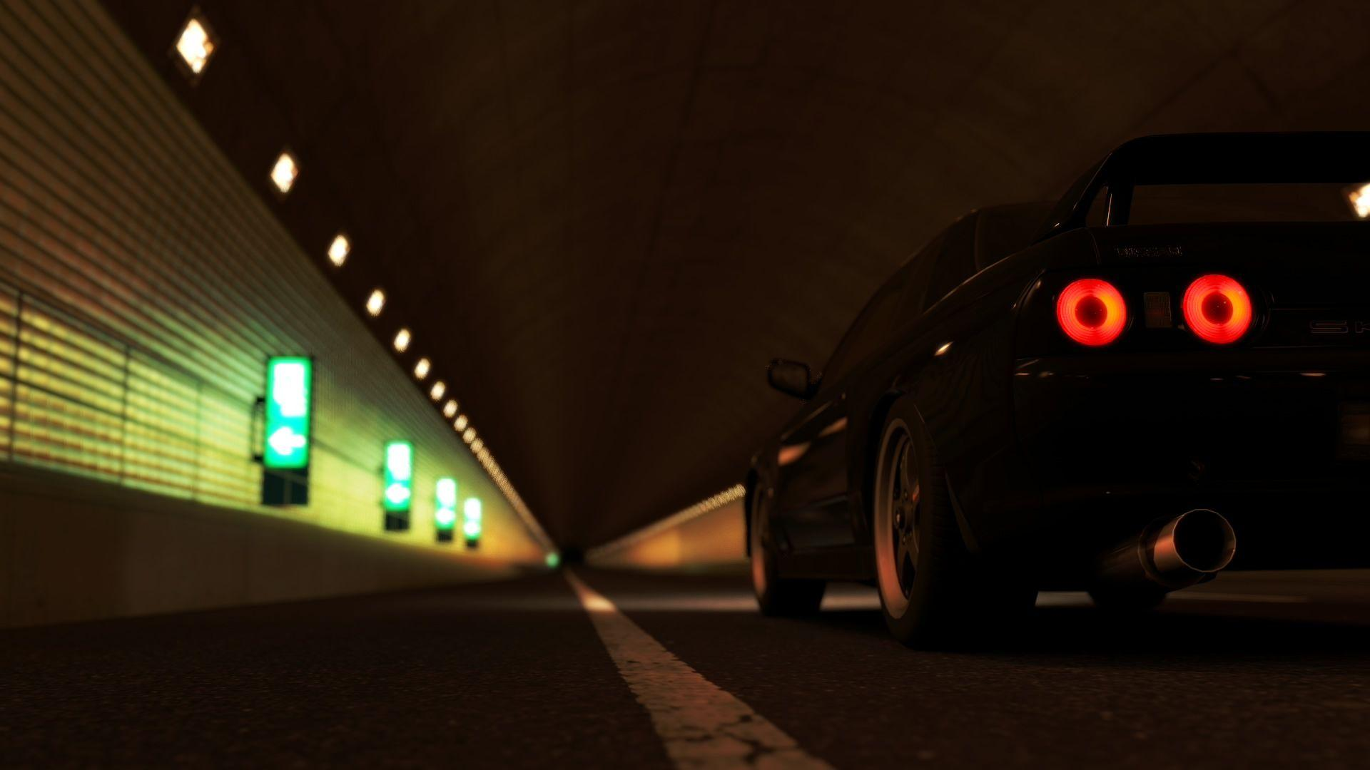 Skyline R32 Wallpaper 1 by ThunderBreak on DeviantArt