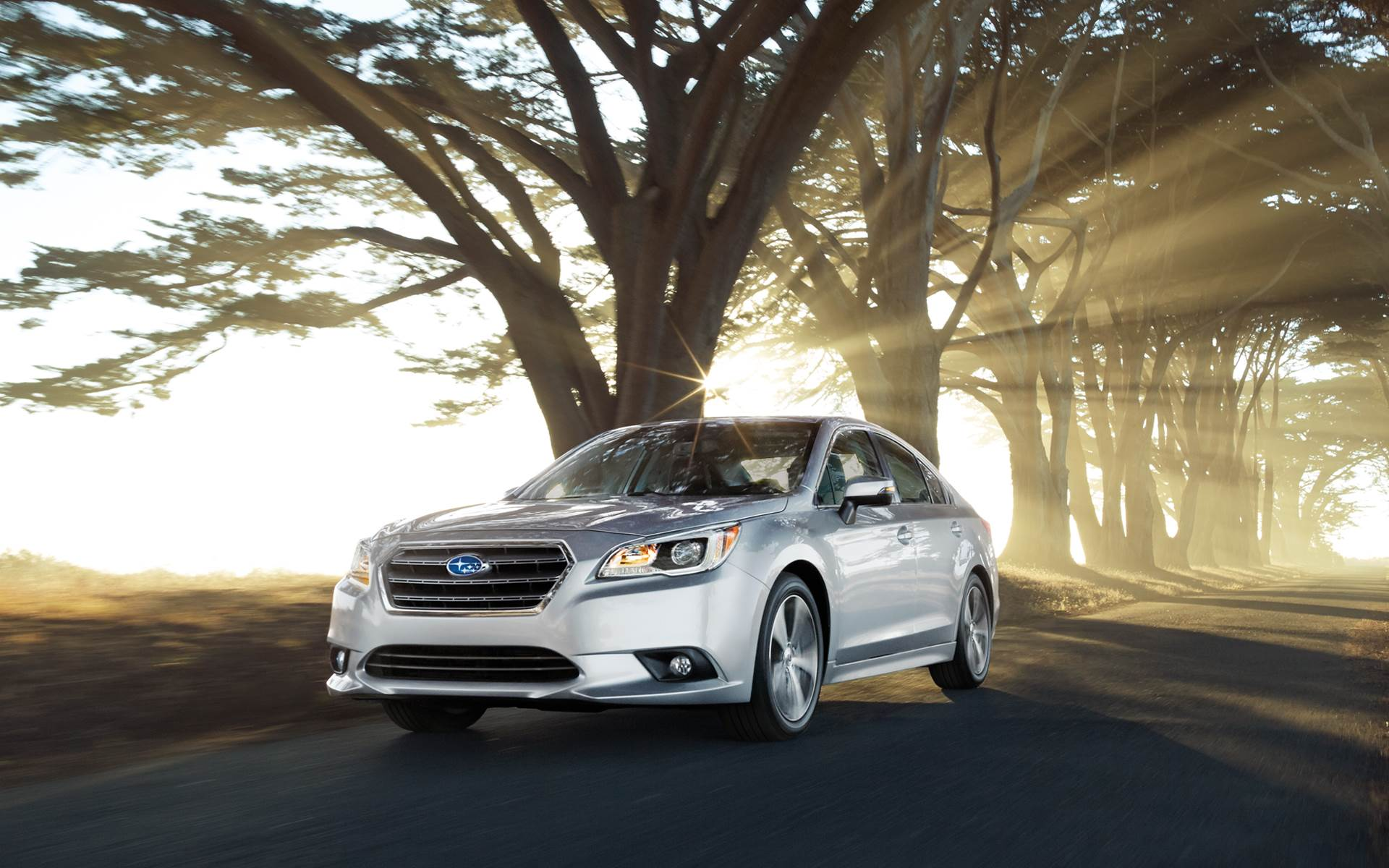How many airbags in 2017 SUBARU LEGACY