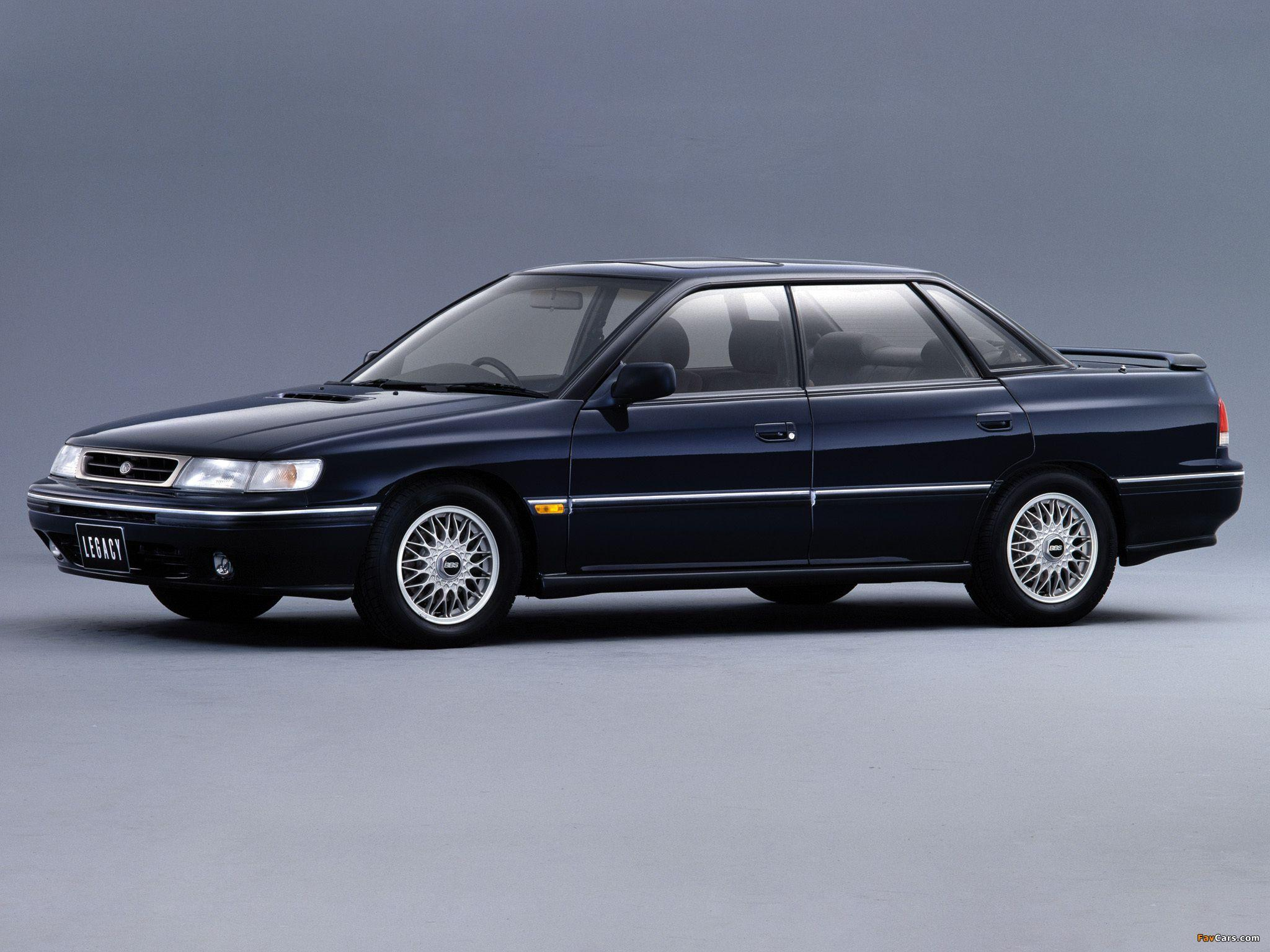 Subaru Legacy 2.0 GT Type S2 (BC) 1992–93 wallpapers (2048x1536)