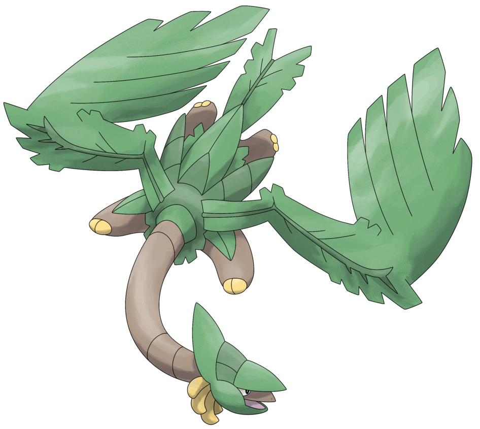 Mega Tropius by Smiley-Fakemon on DeviantArt