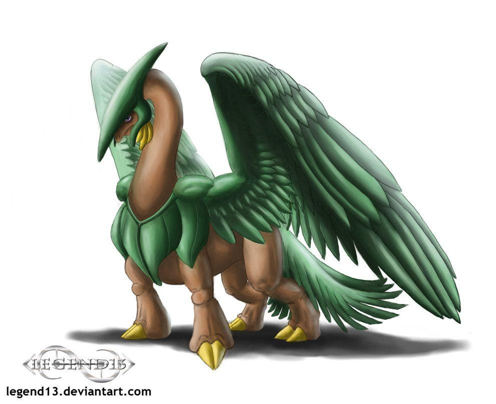 Tropius by Legend13 on DeviantArt