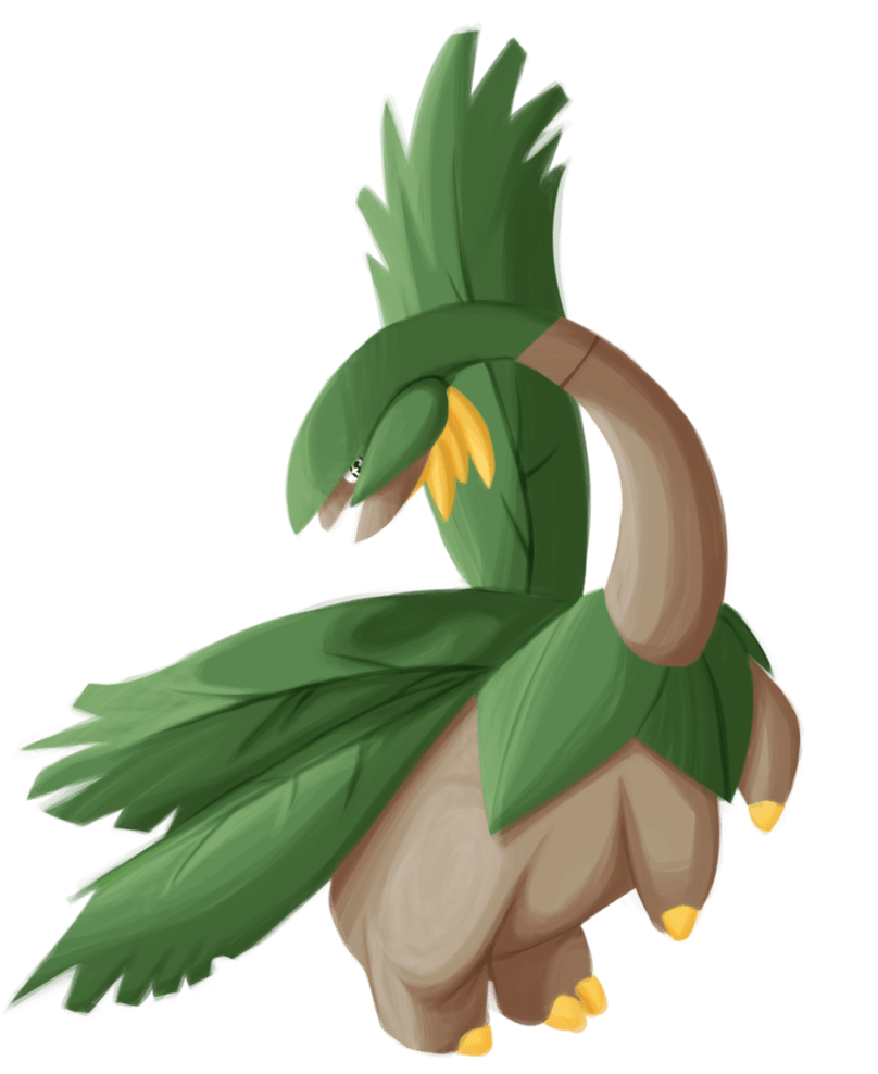 Tropius by Bugskwisher on DeviantArt