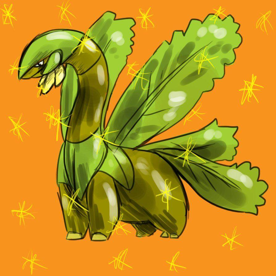 Gotta Shiny Tropius by CavySpirit on DeviantArt
