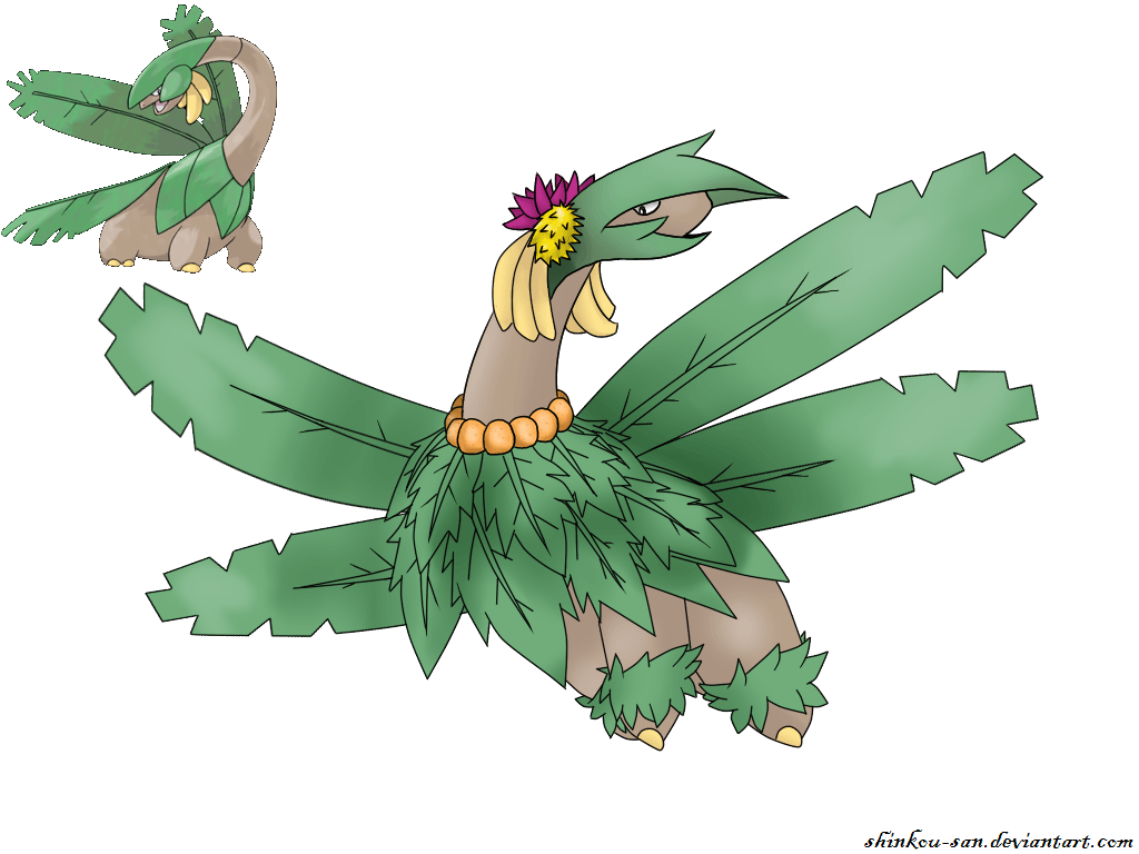 Fanmade-Mega Tropius by Shinkou-san on DeviantArt