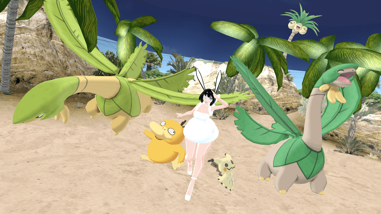 MMD - Tropius *DL* by Catty-Mintgum on DeviantArt