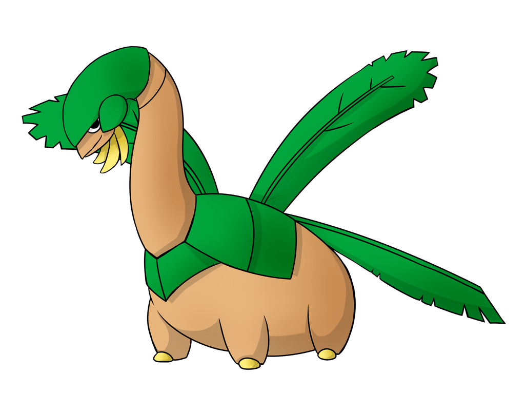 Banana the Tropius by spoontaneous on DeviantArt