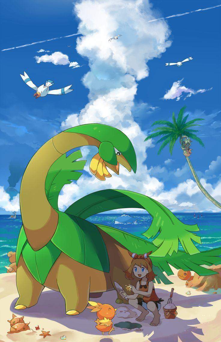 82 best tropius images on Pinterest | Pokemon stuff, Fanart pokemon ...