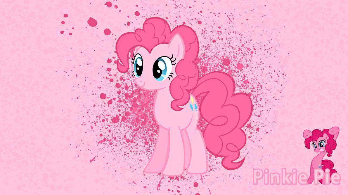 Pinkie Pie Ink Splatter Wallpaper by alanfernandoflores01 on DeviantArt