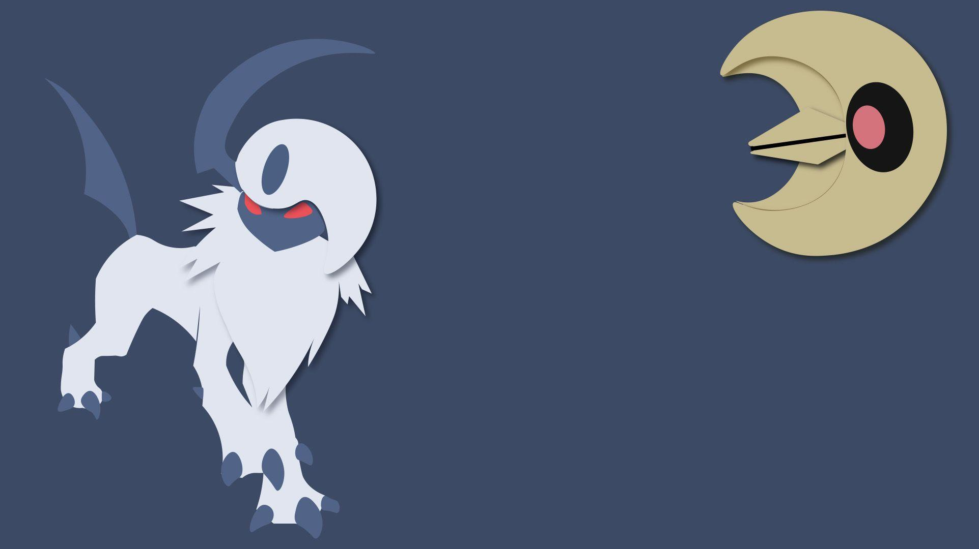 Absol Minimalist Backgrounds