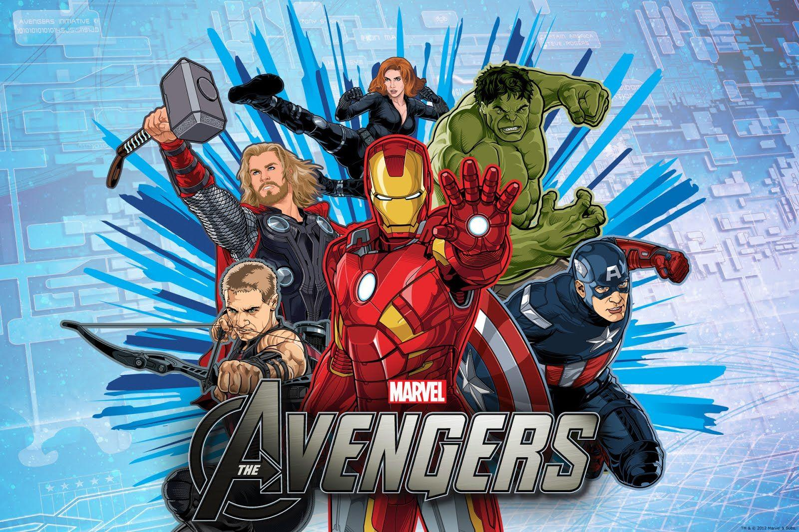 Avengers Cartoon Wallpapers Wallpaper Cave